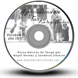 Aprendiento Tango con Angel y Gardenia DVD