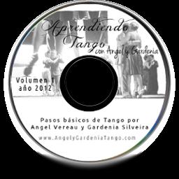 Aprendiento Tango con Angel y Gardenia DVD